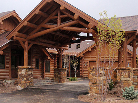 Pin Custom Big Sky Log Homes And Luxury Cabins Perfect