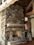 Custom Stone Fireplace, Bozeman, MT