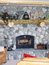 Full Wall Custom Stone Fireplace, Bozeman MT