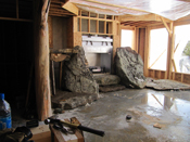 Custom Log Game Room Big Sky MT